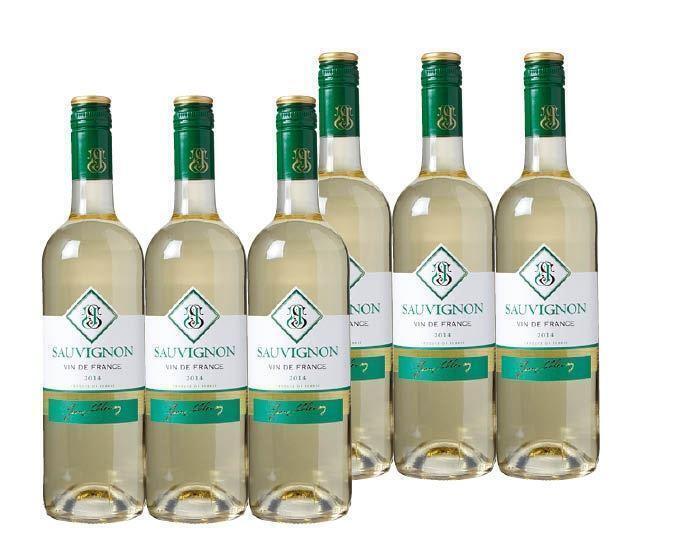 Doos Sauvignon Blanc (fles, 6 × 0.75L)