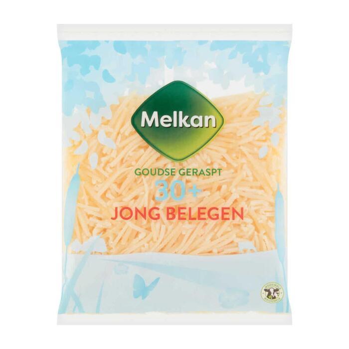 Jong belegen 30+ geraspte kaas (plastic zak, 175g)