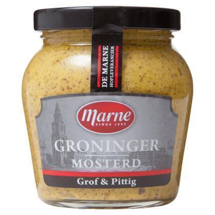 Groninger Mosterd Grof & Pittig (pot, 235g)