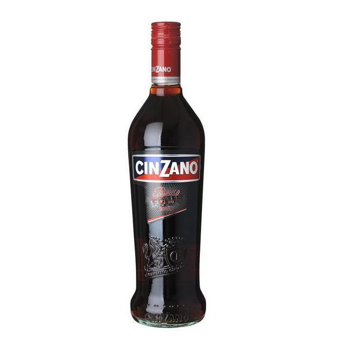 Cinzano Rosso vermouth (glas, 0.75L)