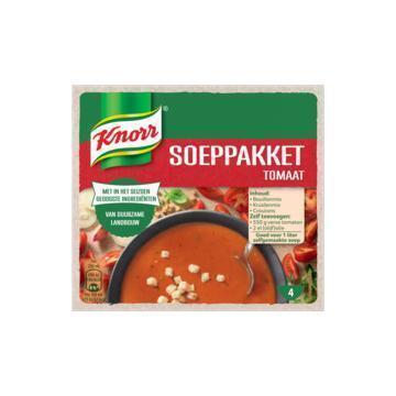 Knorr Soeppakket Tomaat voor 1L Tomatensoep 92 g (72g)