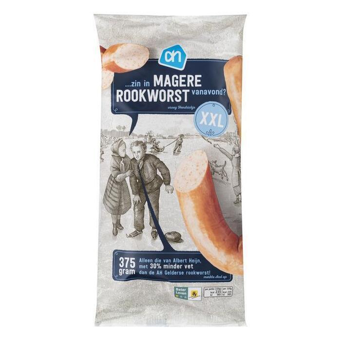 Sappige Magere Rookworst (zak, 375g)