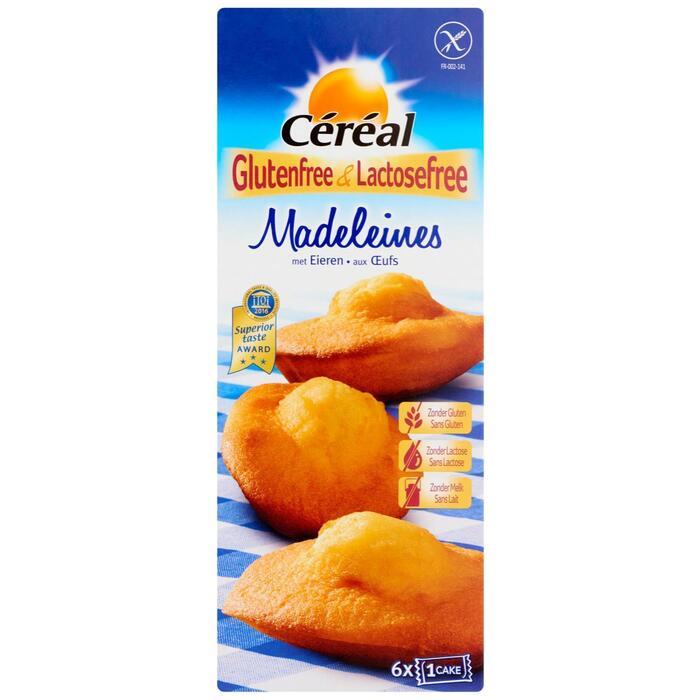 Céréal Glutenfree & Lactosefree Madeleines met Eieren 6 Stuks 180 g (180g)