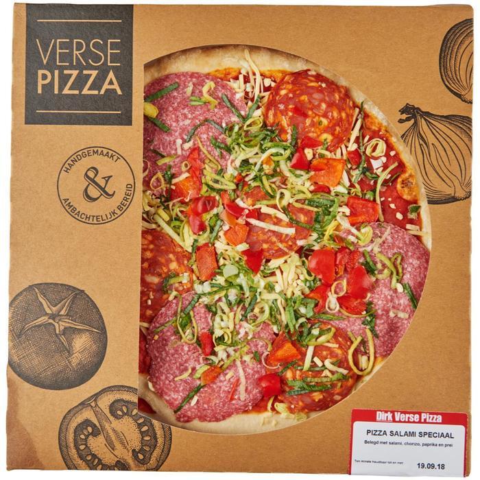 Pizza salami speciaal (425g)