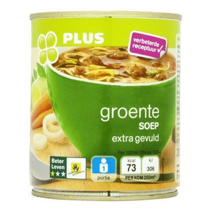 Groentesoep BLK 1 ster (30cl)