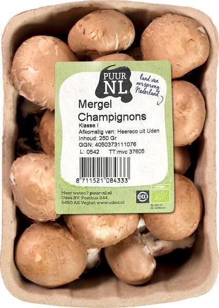 Mergel Champignons (bak, 250g)