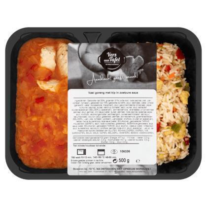 Vers Aan Tafel Nasi Goreng met Kip in Zoetzure Saus 500 g (500g)