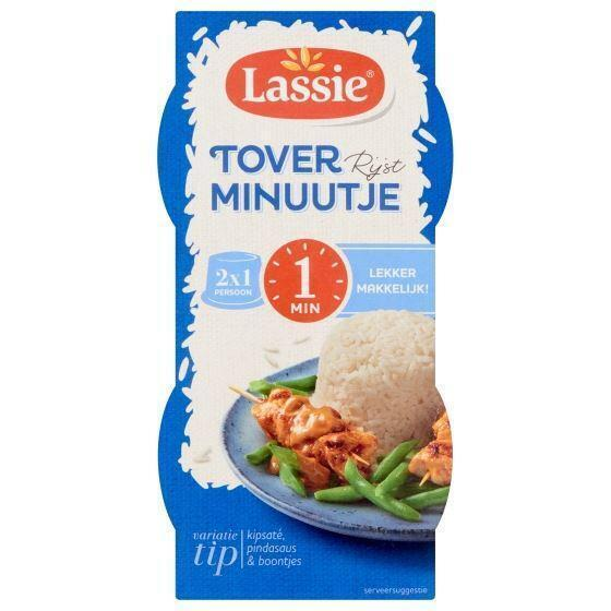 Lassie toverrijst minuutje 2 x 125 gram (2 × 125g)