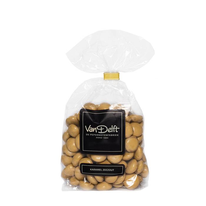 Van Delft Pepernotenfabriek caramel zeezout (225g)