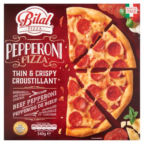 Bilal Pizza Pepperoni 340 g (340g)