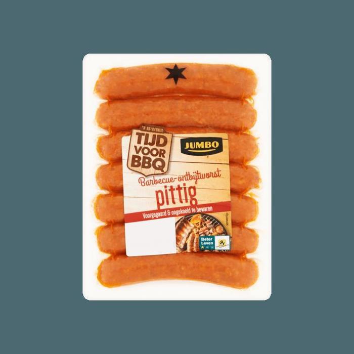 Jumbo Barbecue Ontbijtworst Pittig 230g, product en prijs