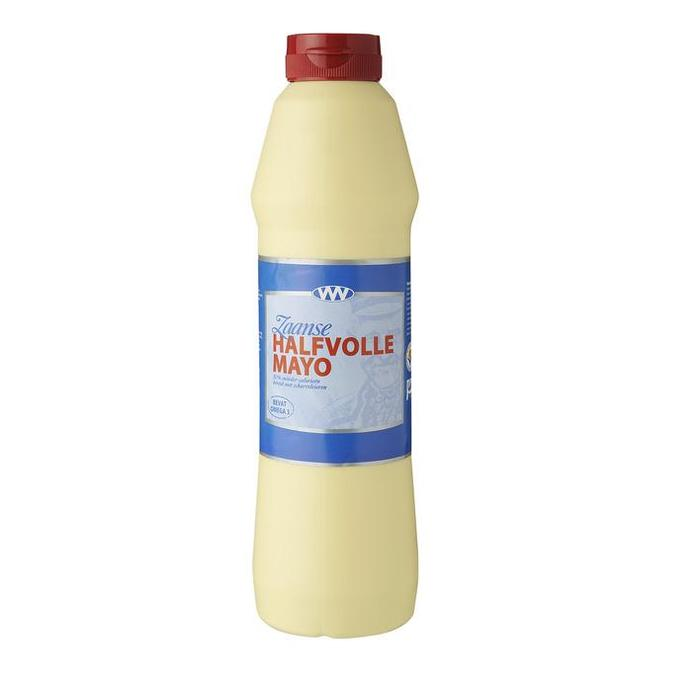 Zaanse Halfvolle Mayo (knijpfles, 0.75L)