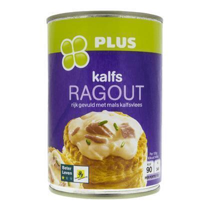 Ragout kalfsvlees BLK 1 ster (400g)