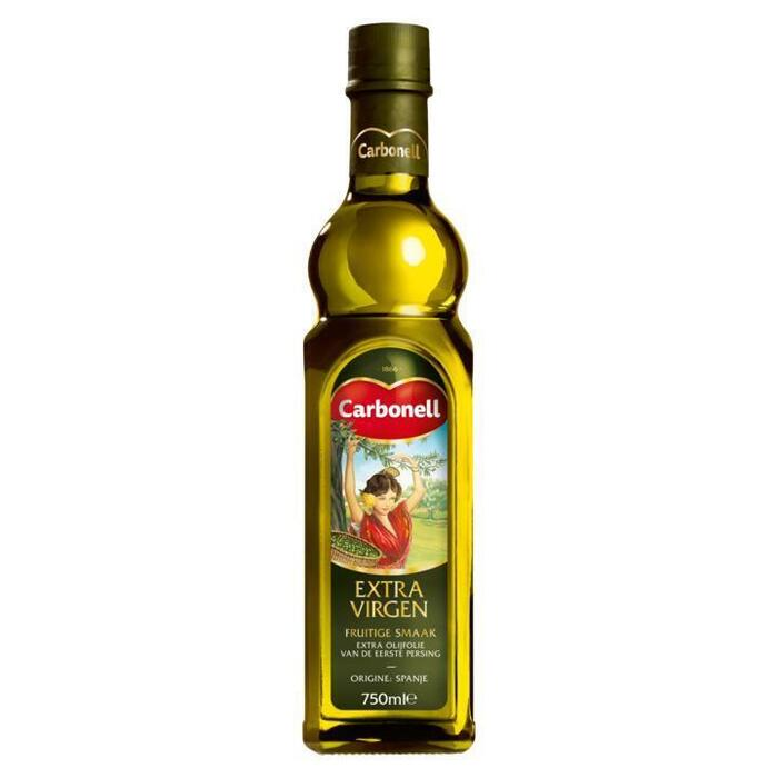 Extra Virgen Spaanse Olijfolie (glazen fles, 0.75L)