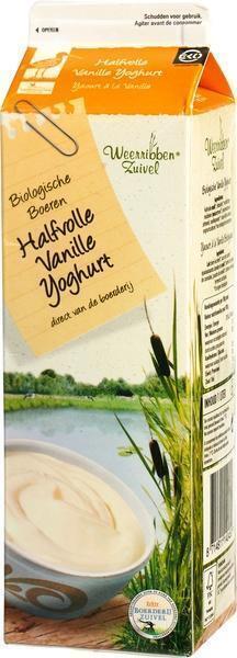 Vanilleyoghurt (pak, 1L)