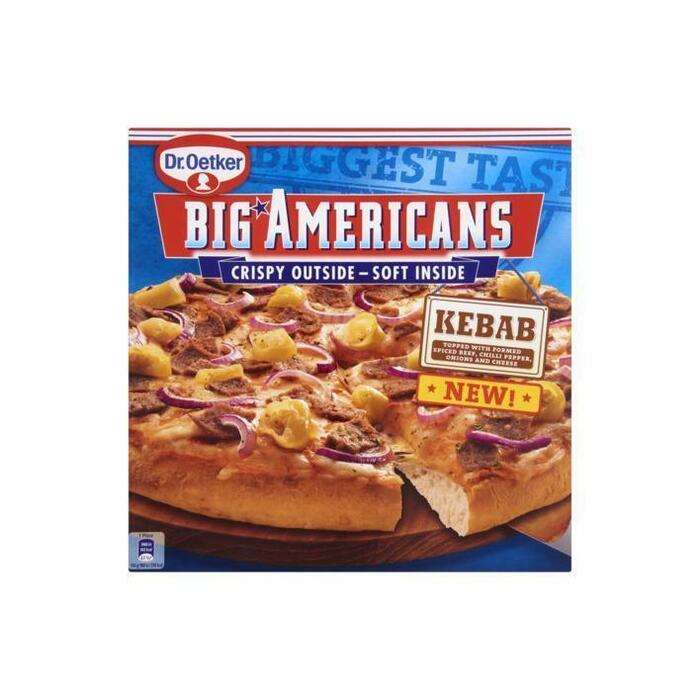 Oetk big americans kebap (410g)