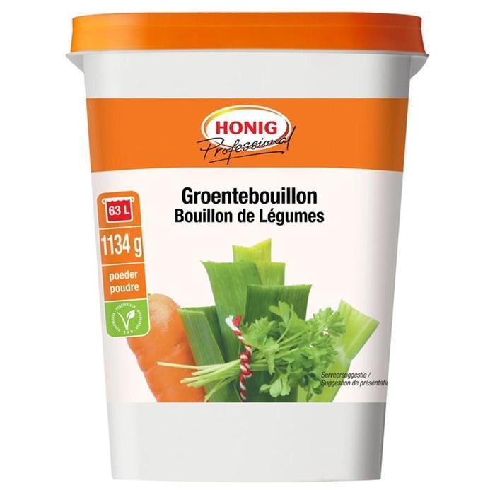 Honig Professional Groentebouillon 1134 g Beker/kuipje (1.13kg)