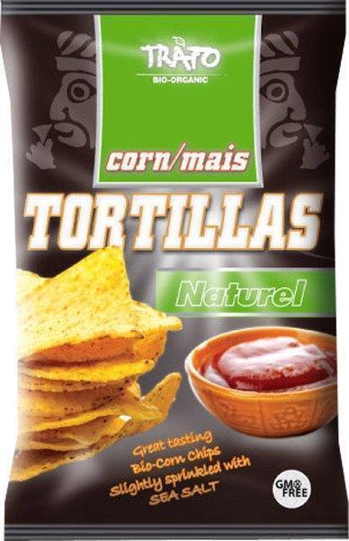 Tortillachips naturel familiezak (200g)