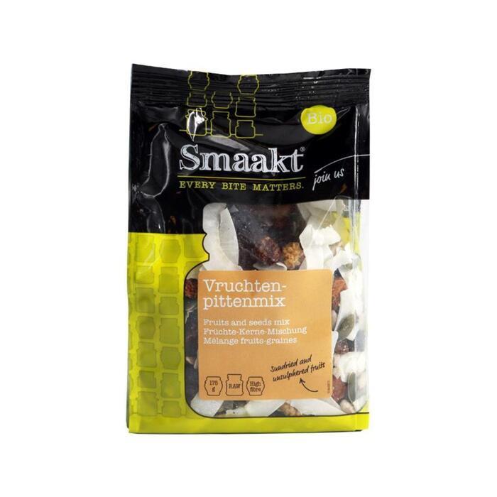 Smaakt Bio Vruchten-Pittenmix 175 g (175g)