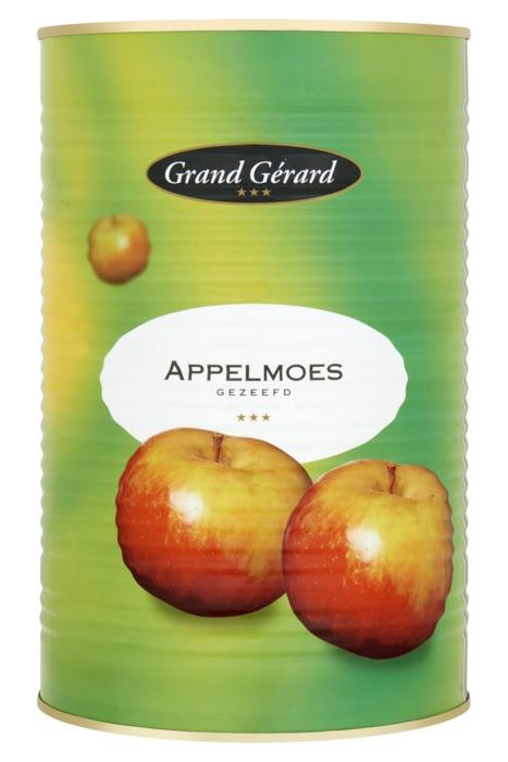 Grand Gérard Appelmoes Gezeefd 4400 g (baal, 5 × 4.4kg)