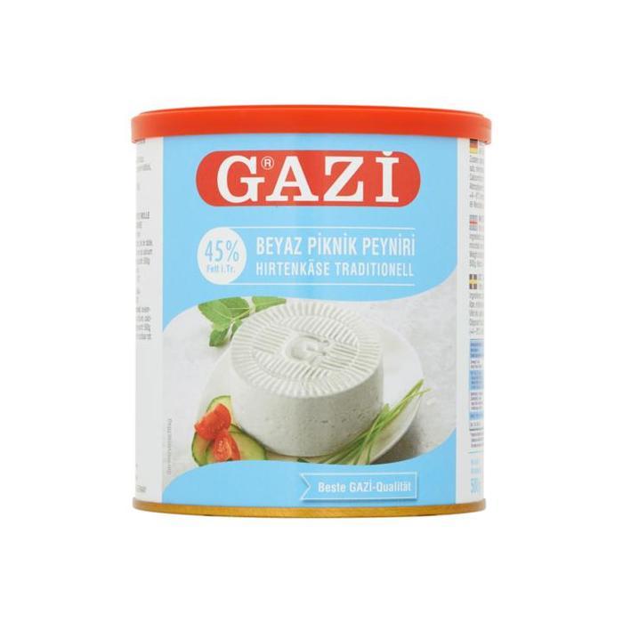 Gazi Zacht Witte Kaas 45+ 750g (750g)