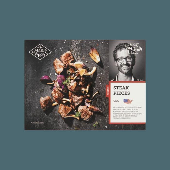 Steak Pieces USA (doos, 400g)