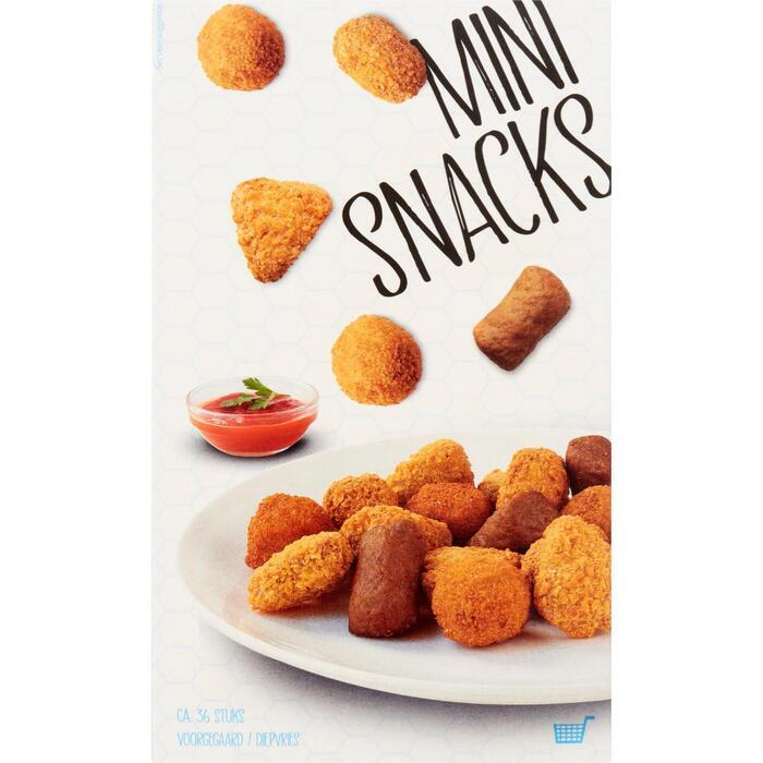 Mini snacks 36 stuks (648g)