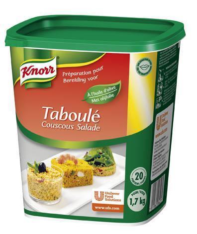 Knorr Taboulé Couscous Salade (baal, 6 × 625g)