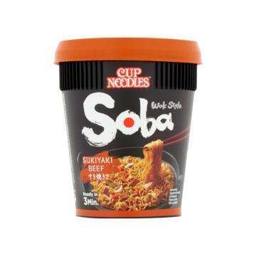 Soba noodles sukiyaki beef (89g)