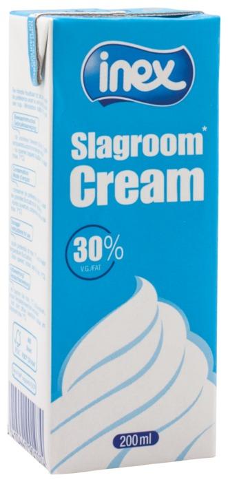 Slagroom 30% Vet (pak, 200ml)