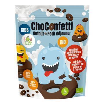 Love my veggies Choconfetti ontbijt 12+ bio (125g)
