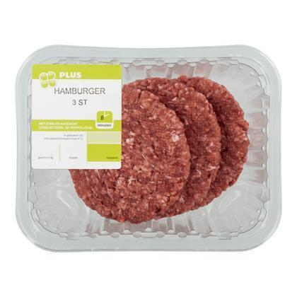 Hamburgers (3 × 100g)