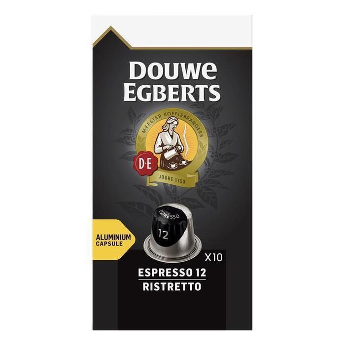 Capsules espresso 12 ristretto (10 × 52g)