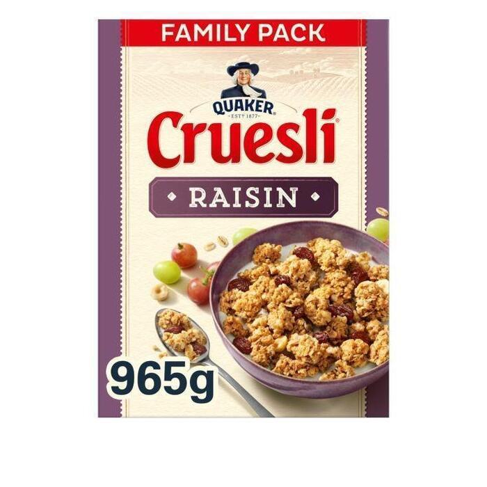Cruesli Rozijn (965g)