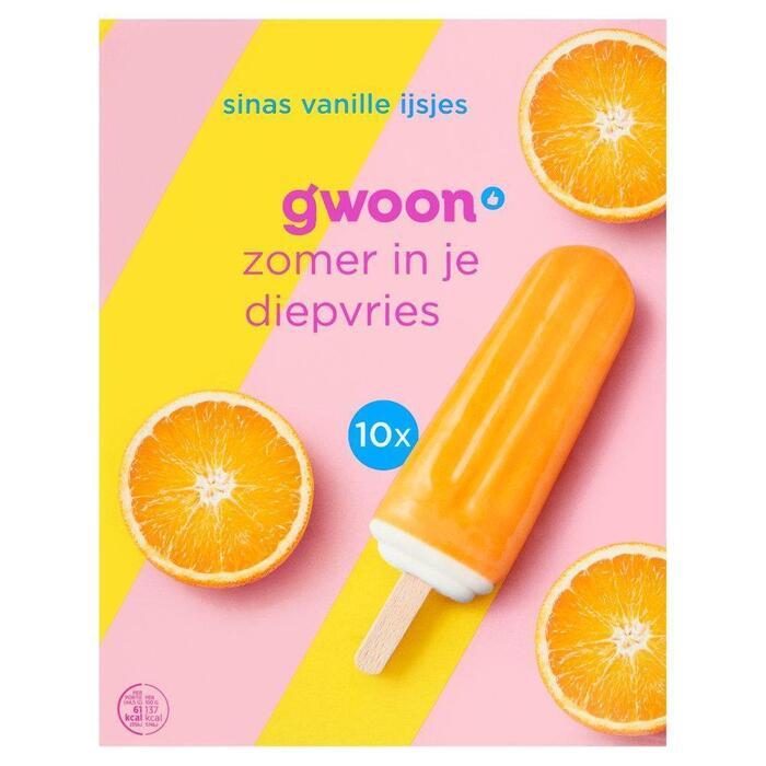 g'woon Sinas vanille ijsjes (430g)
