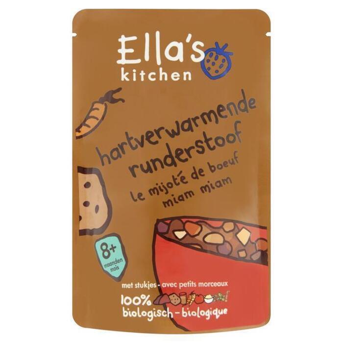 Ella's Kitchen Hartverwarmende runderstoof 8+ mnd (190g)