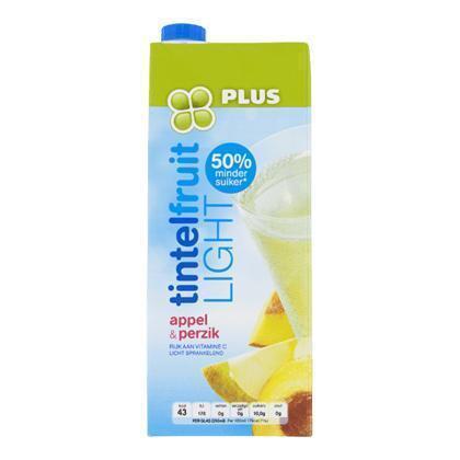 Tintelfruit Light Appel & perzik (rol, 1.5L)