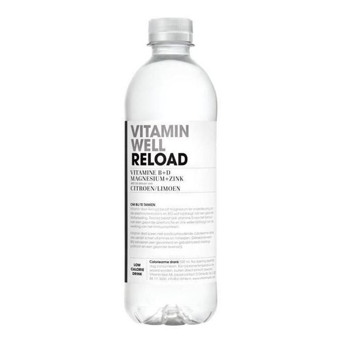 Reload Citroen / Limoen (fles, 0.5L)