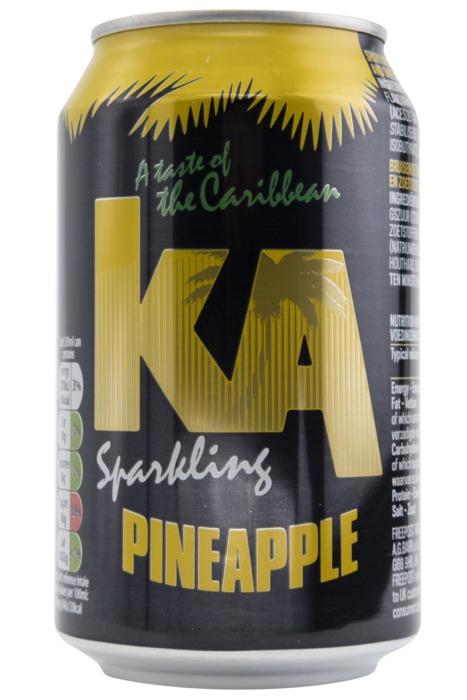 KA Sparkling Pineapple 330ml (33cl)