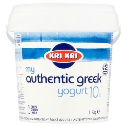 Kri Kri Authentieke Griekse Yoghurt 10% 1 kg (1g)