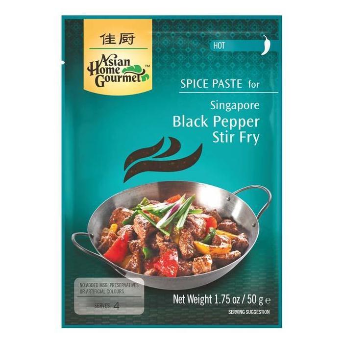 Kr.pasta zwarte peper wokger. AHG zk50g (50g)