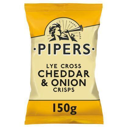 Pipers Lye cross cheddar & onion (150g)
