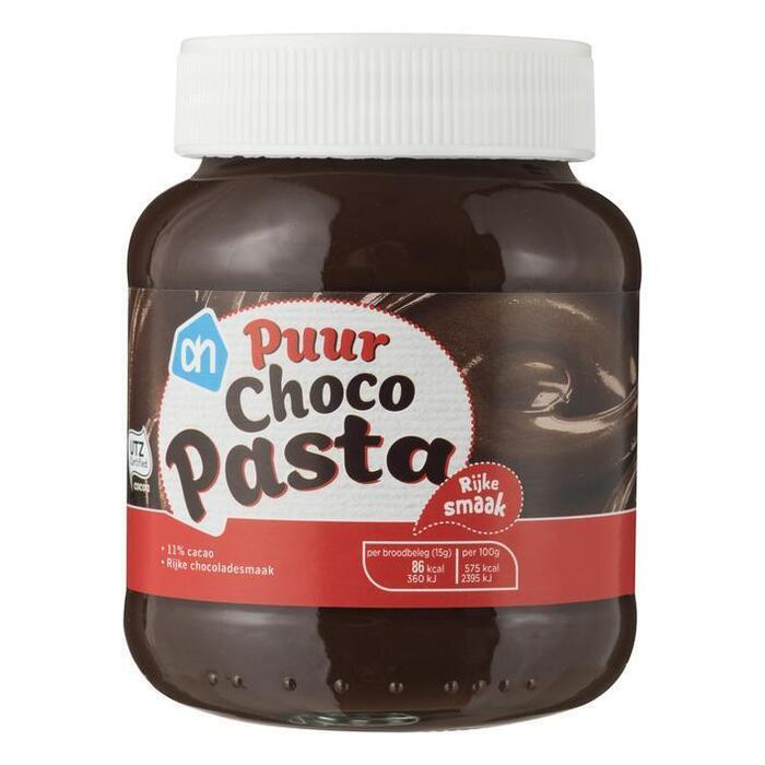 Chocolade pasta puur (400g)