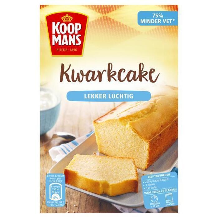 Koopmans Kwarkcake (400g)