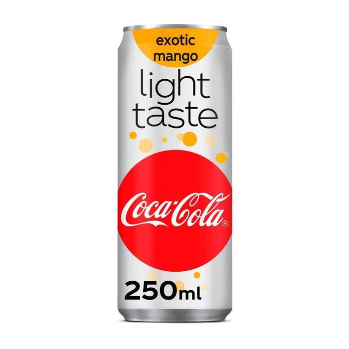 Coca Cola Light exotic mango (rol, 25 × 250ml)