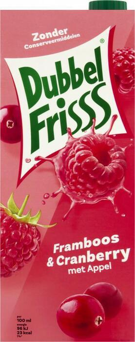 Dubbel Friss Framboos & Cranberry (Stuk, 1.5L)