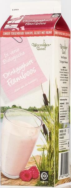 Drinkyoghurt framboos (1L)