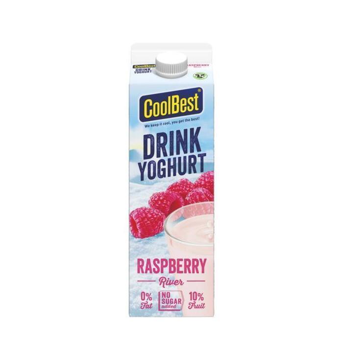 CoolBest Drink yoghurt raspberry river (1L)