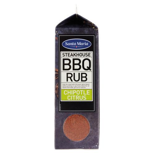 Santa Maria Steakhouse BBQ Rub Chipotle Citrus 650 g (650g)