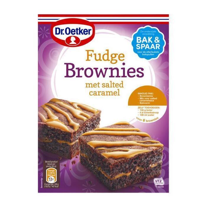 Verwen brownies salted caramel (305g)